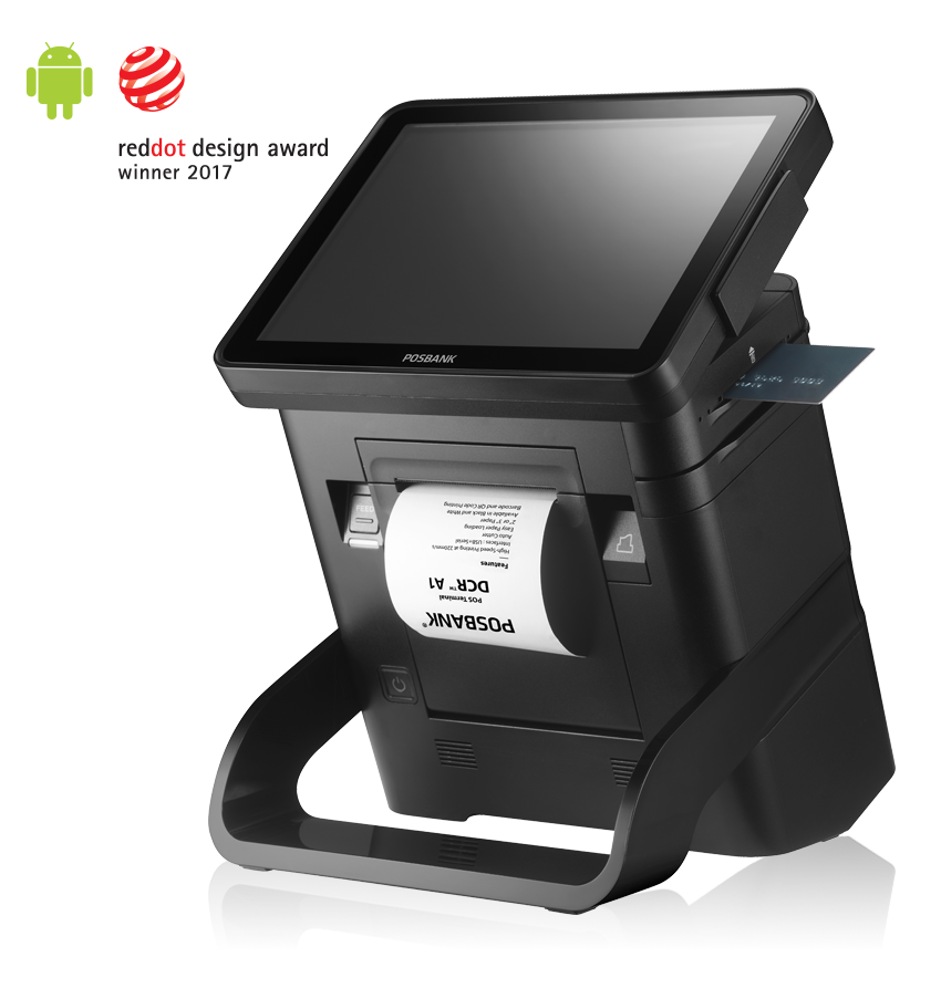 POSBANK DCR™ A1 All In One POS (Android)